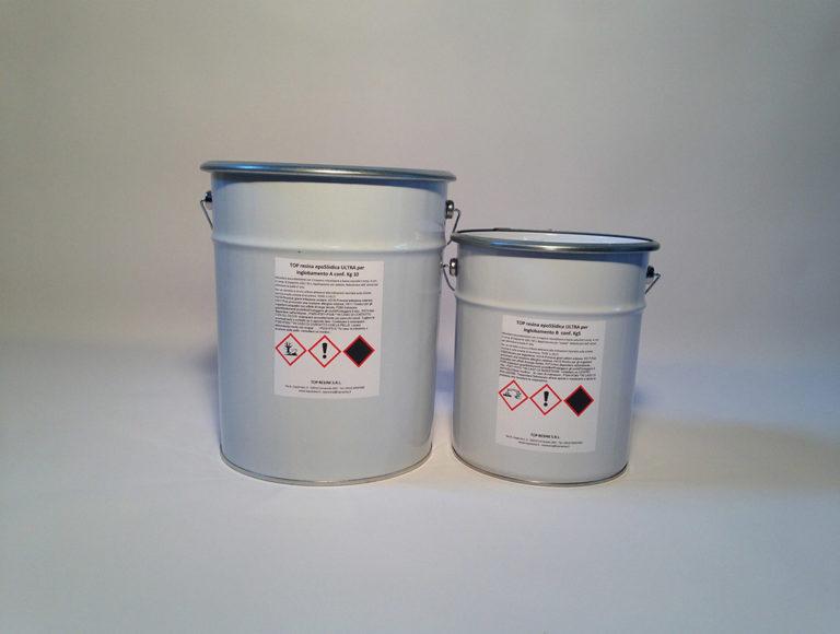 TOP resina apoSSidica ULTRA per inglobamento 15